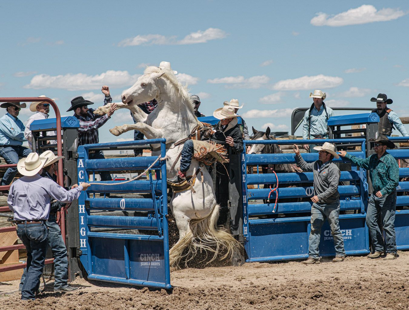 Rodeo training at cervi ace high ranch academy