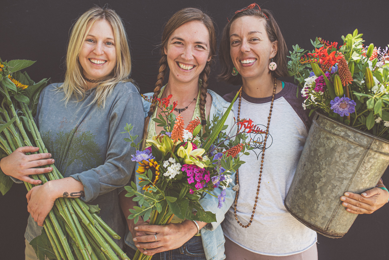 Organic Flower Farm Workers Boulder